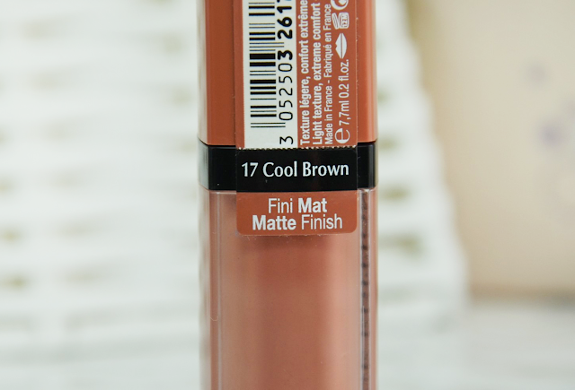 Bourjois Rouge Edition Velvet 17 Cool Brown