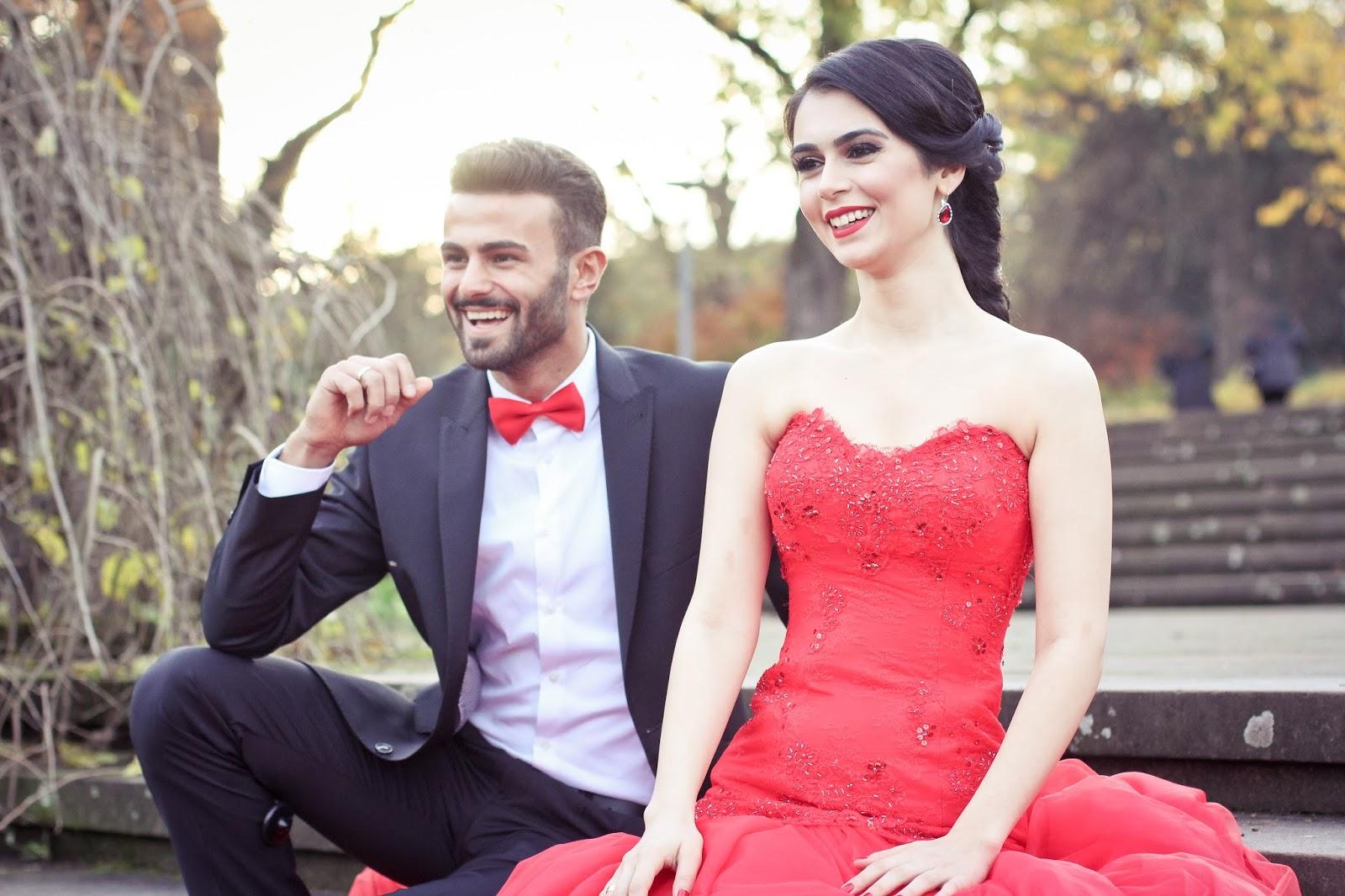 kırmızı abiye kıyafet nişanlık