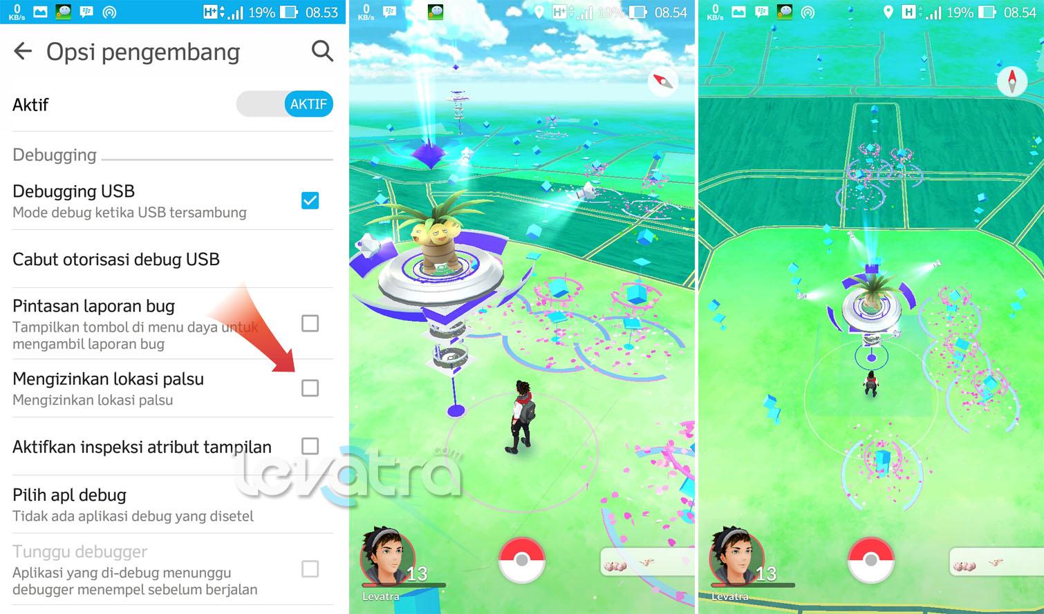 Cara Ubah Lokasi GPS Pokemon GO Dengan Fake GPS Location