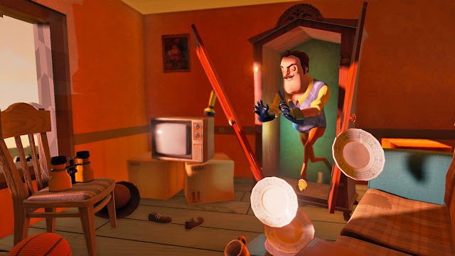 Hello Neighbor, Dynanic Pixels, Virtual Reality, horror, games, horror games