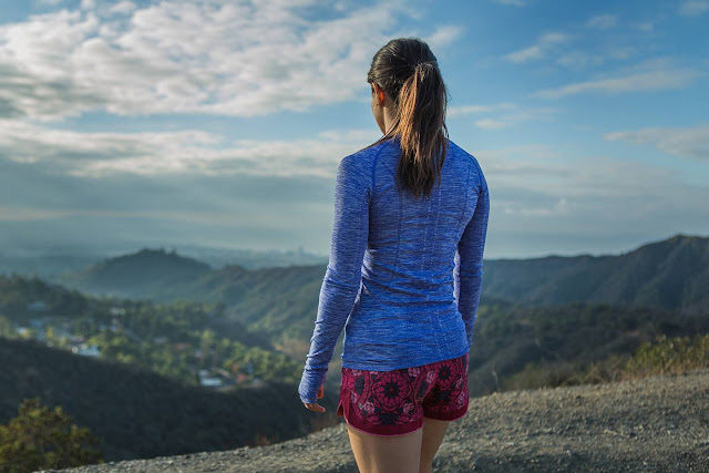 lululemon ready to roll prisma print short
