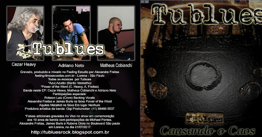 Tublues libera novo EP CAUSANDO O CAOS para download