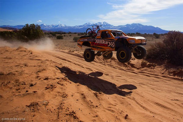 Tonka Trophy Truck Shuttle Runs feat. Diamondback Bikes