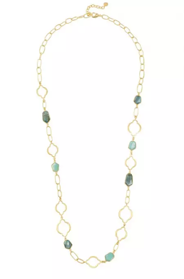 Stella & Dot Arabesque Necklace as seen on Holly Robinson Peete