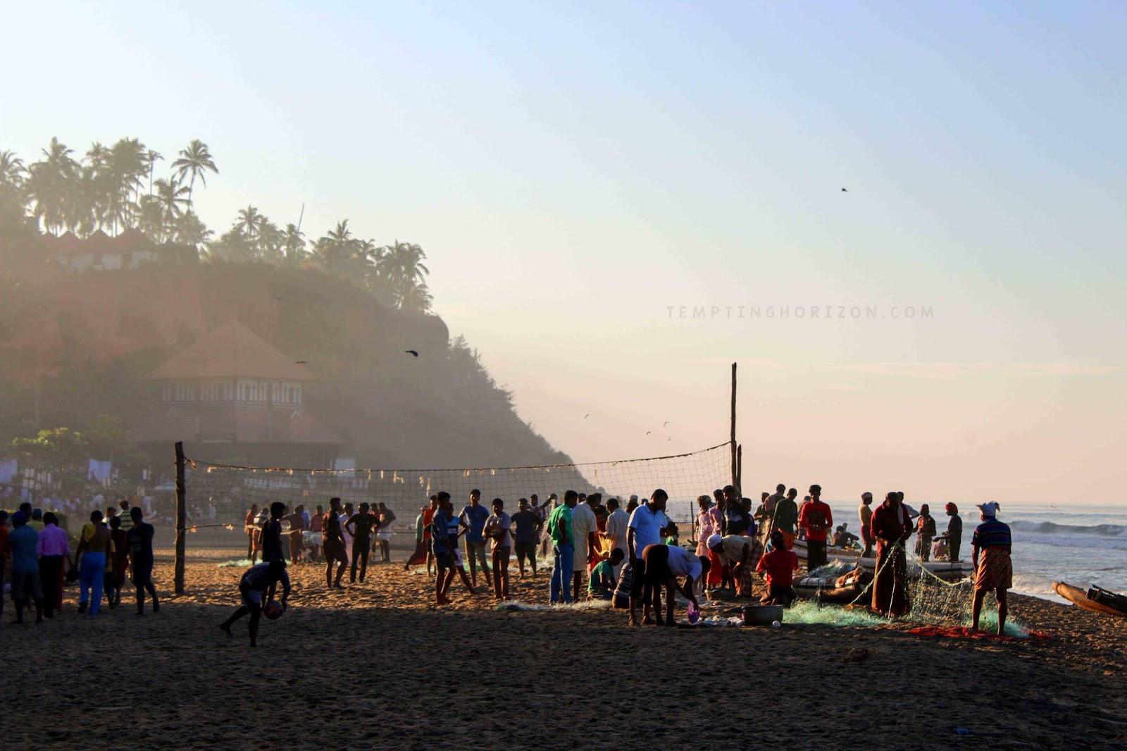 Morning at Papanasam beach