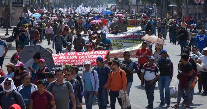 La CNTE anuncia paro de 72 horas el 1 de mayo; tomará tiendas y realizará cierres carreteros