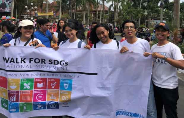 aiesec kampanye SDGs