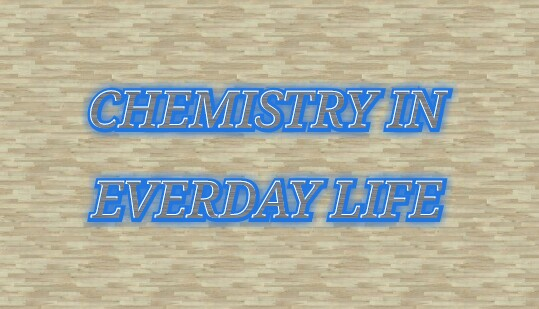 Chemistry In Everyday Life Pdf