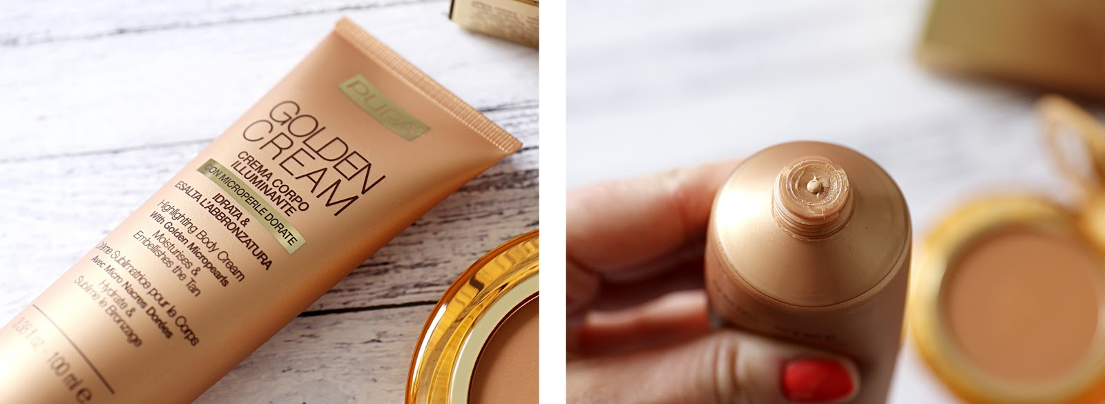 Pupa Highlighting Body Cream
