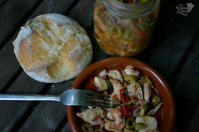 receta de salpicón de langostinos y rejos tererecetas  05