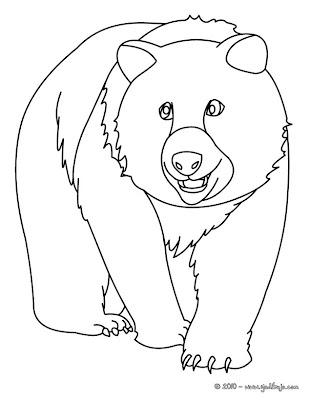 La Chachipedia Dibujos De Osos Para Colorear Gifs Animados Y