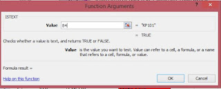 function argument rumus istext