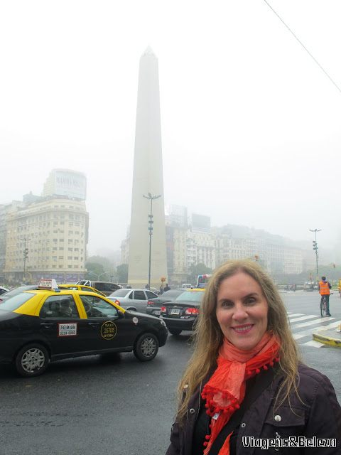 Av. 9 de Julho e o Obelisco