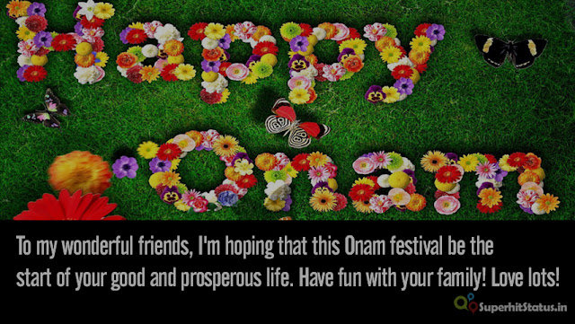 Best Happy Onam Message Wishes Quotes, Greetings in English