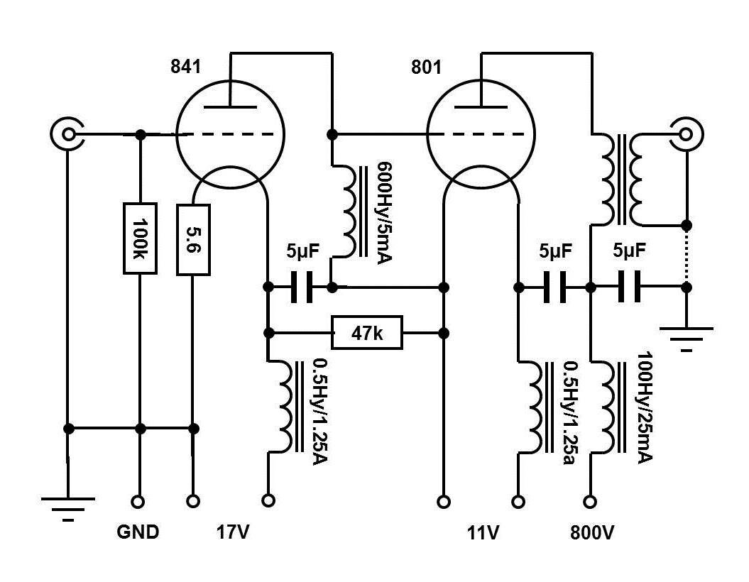phono preamplifier schematic