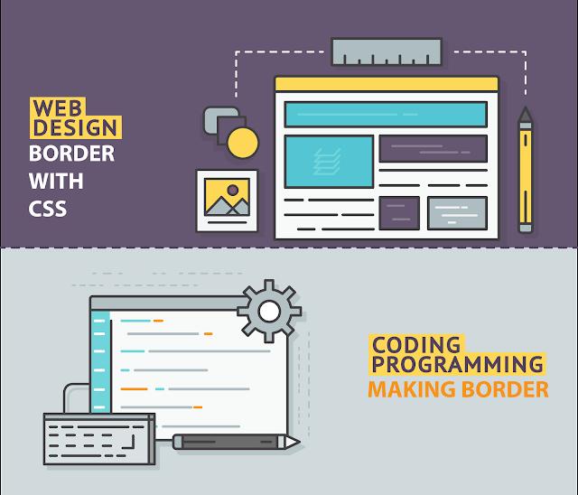 Cara Membuat Bingkai/Garis Tepi Dengan CSS ( Border )