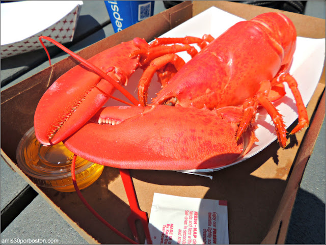 Lobster Shacks en la Costa Sur de Maine: Langosta en el Fox's Lobster House