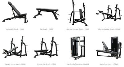 banc olympique, machines de muscu squat banc incliné décliné extension des jambes