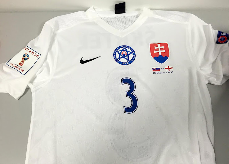 3a743158ccb Nike Slovakia 2018 World Cup Qualifiers Kit Revealed - Footy Headlines