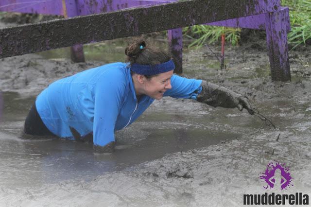 Mudderella muddy obstacle