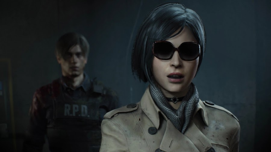resident evil 2 remake leon and ada wong