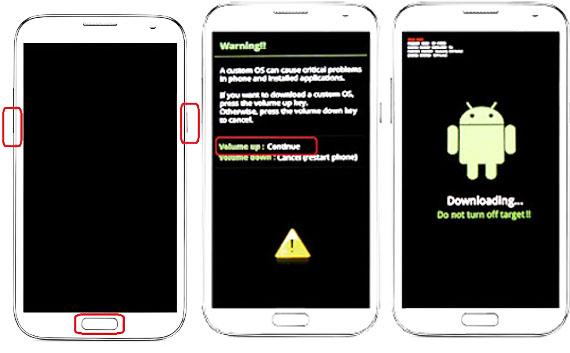 Cara Pasang CWM dan ROOT Pada Samsung Galaxy Note 1 GT-N7000