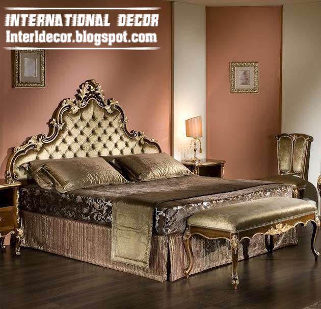 Luxury classic bedrooms furniture Italian designs