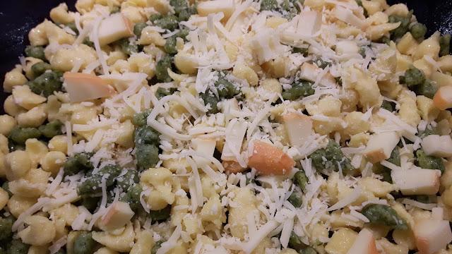 Rezepte für Kinder: Käsespätzle