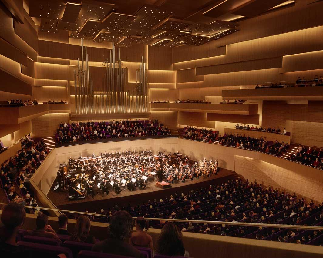 Radio City Music Hall Floor Plan A F A S I A Henning Larsen Architects