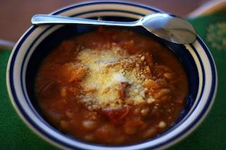 crockpot lima bean soup
