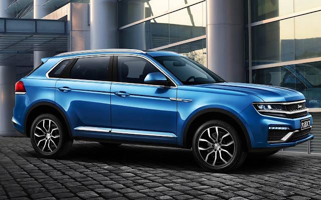 Zotye Domy X7 - VW Tiguan Chinês