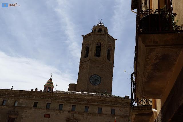 Cervera, iglesia de Santa María, campanario