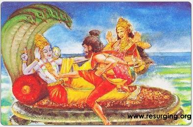 Bhrigu Muni Testing Lord Vishnu