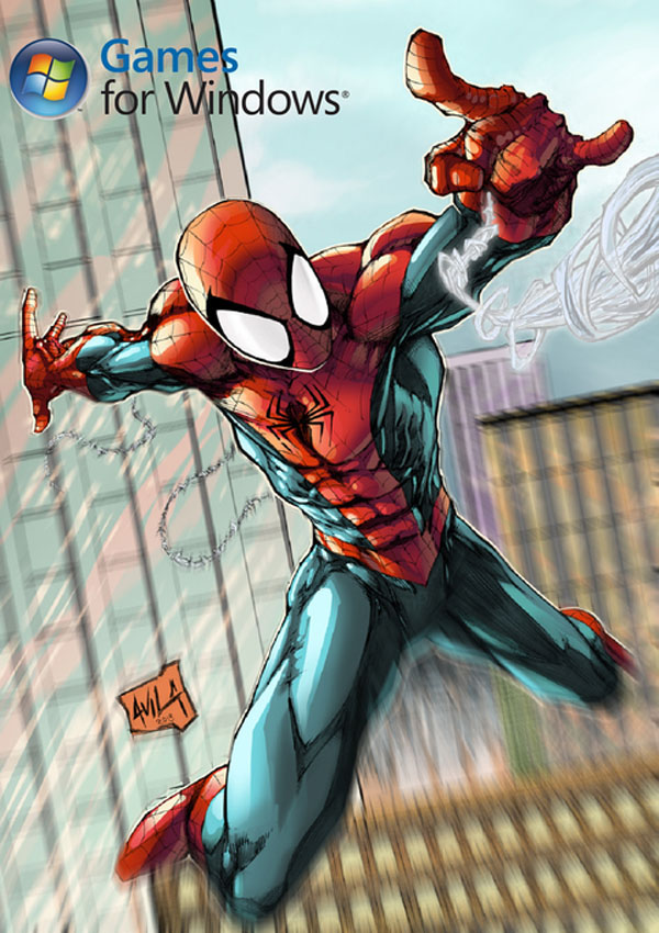Ultimate Spider Man Download Cover Free Game