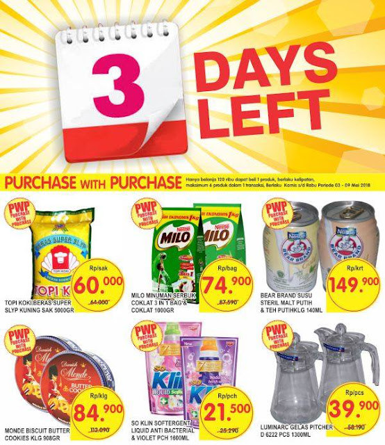 Hanya tinggal 3 hari lagi Super Indo Shopper!