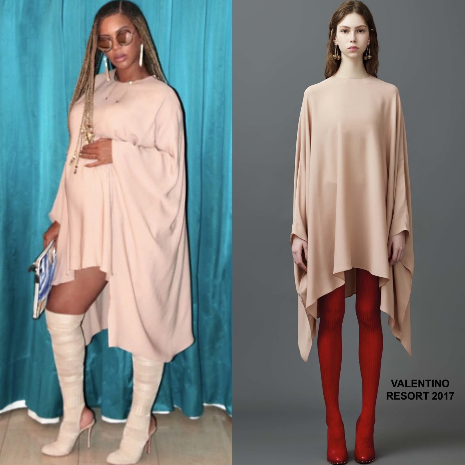 Instagram Style Beyonce In Valentino