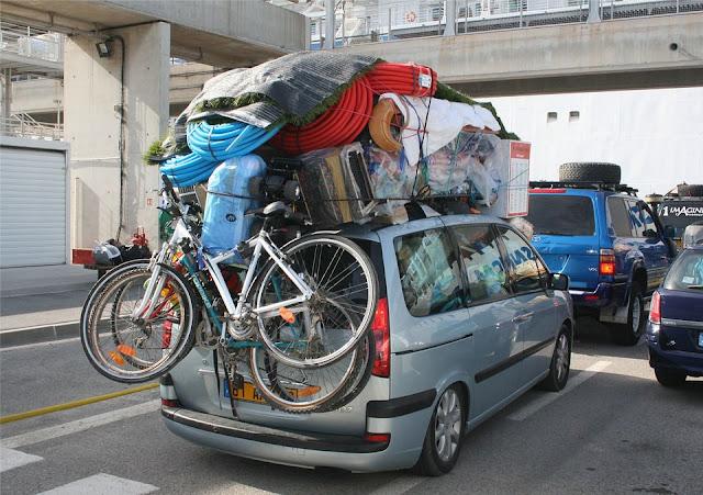 Jangan Bawa Barang Berlebihan Di Mobil