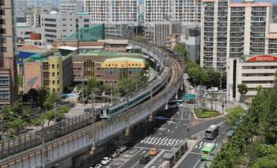 bagian kota republik korea