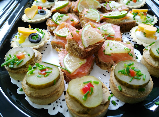 party food, canapes, catering, Galway Gateaux