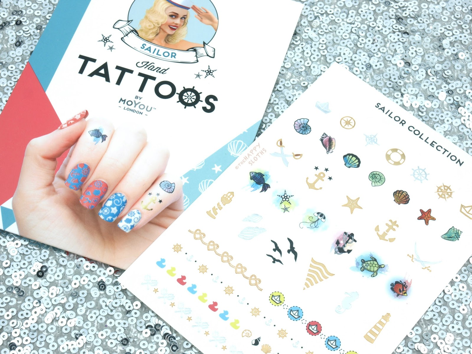 MoYou London Sailor Hand Tattoos