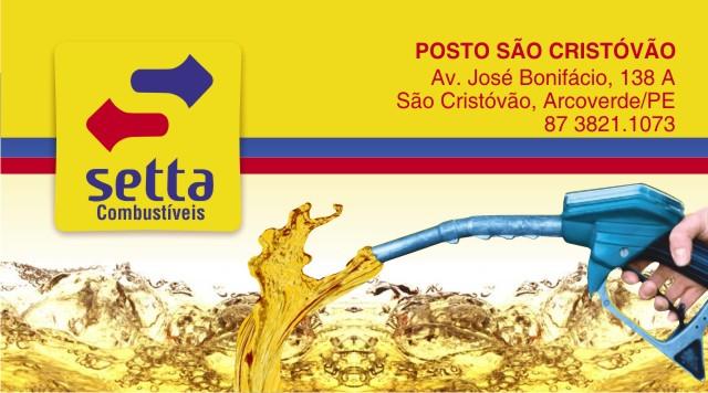 Carlinhos  Cartão de Visita Setta Combustíveis ec03122a7fe5c