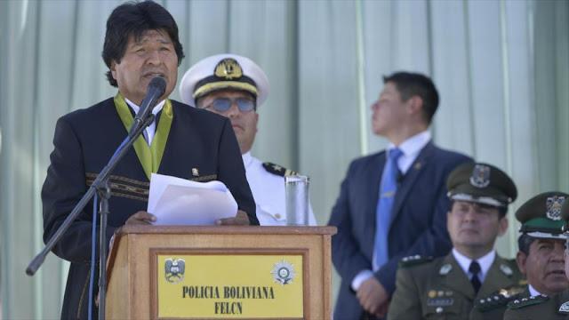 Morales acusa a EEUU de fomentar separatismo en Bolivia