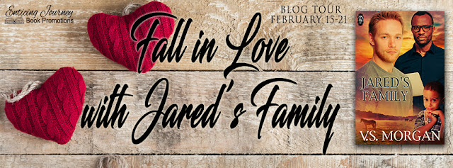 Blog Tour: Exclusive Excerpt & Giveaway V.S Morgan - Jared's Family