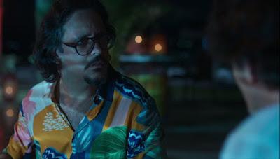 Mario (Lucio Mauro Filho) fica chocado com a notícia de que é o pai do filho de Nana (Fabiula Nascimento) — Foto: Globo