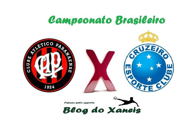 Atlético-PR x Cruzeiro Brasileirão Série A 29/10/2016, 16:30 Arena da Baixada, Curitiba, Paraná