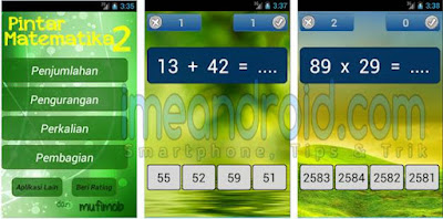 aplikasi matematika kelas 2