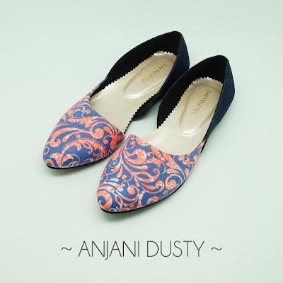 Sepatu The Warna: Anjani Dusty