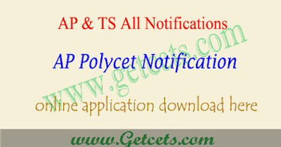 AP Polycet 2020 notification, application form