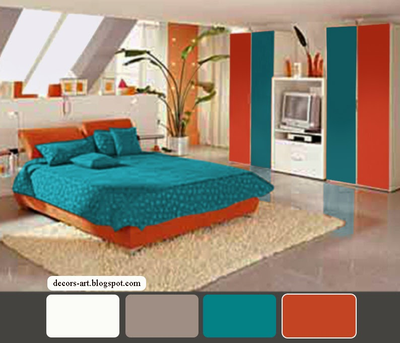 Turquoise Bedroom Decorating Ideas. purple and turquoise ...