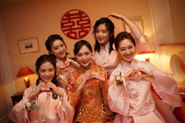 Tang Yan Luo Jin wedding day